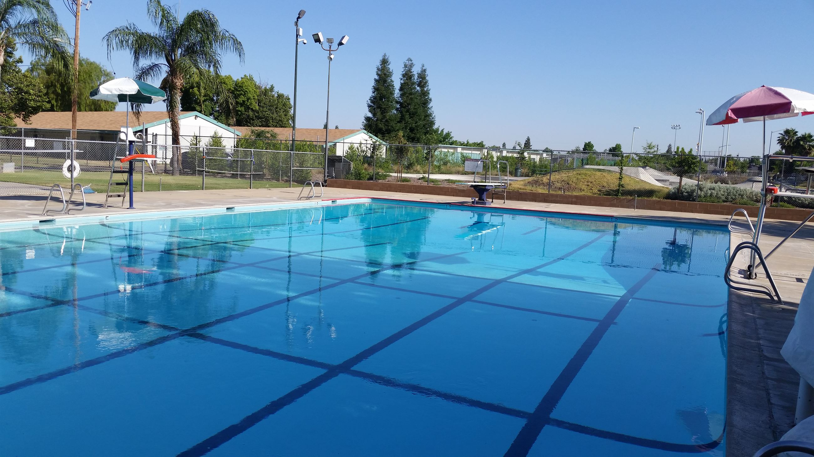 Main Pool at  Sanger Aquatic Complex