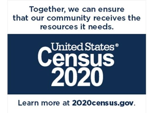 Together we can - Census 2020 Logo