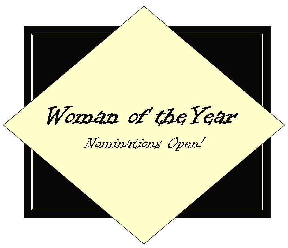 Website Woman of the Year logo