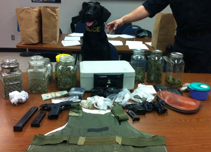 Items taken into possession by the Sanger Police Department 1