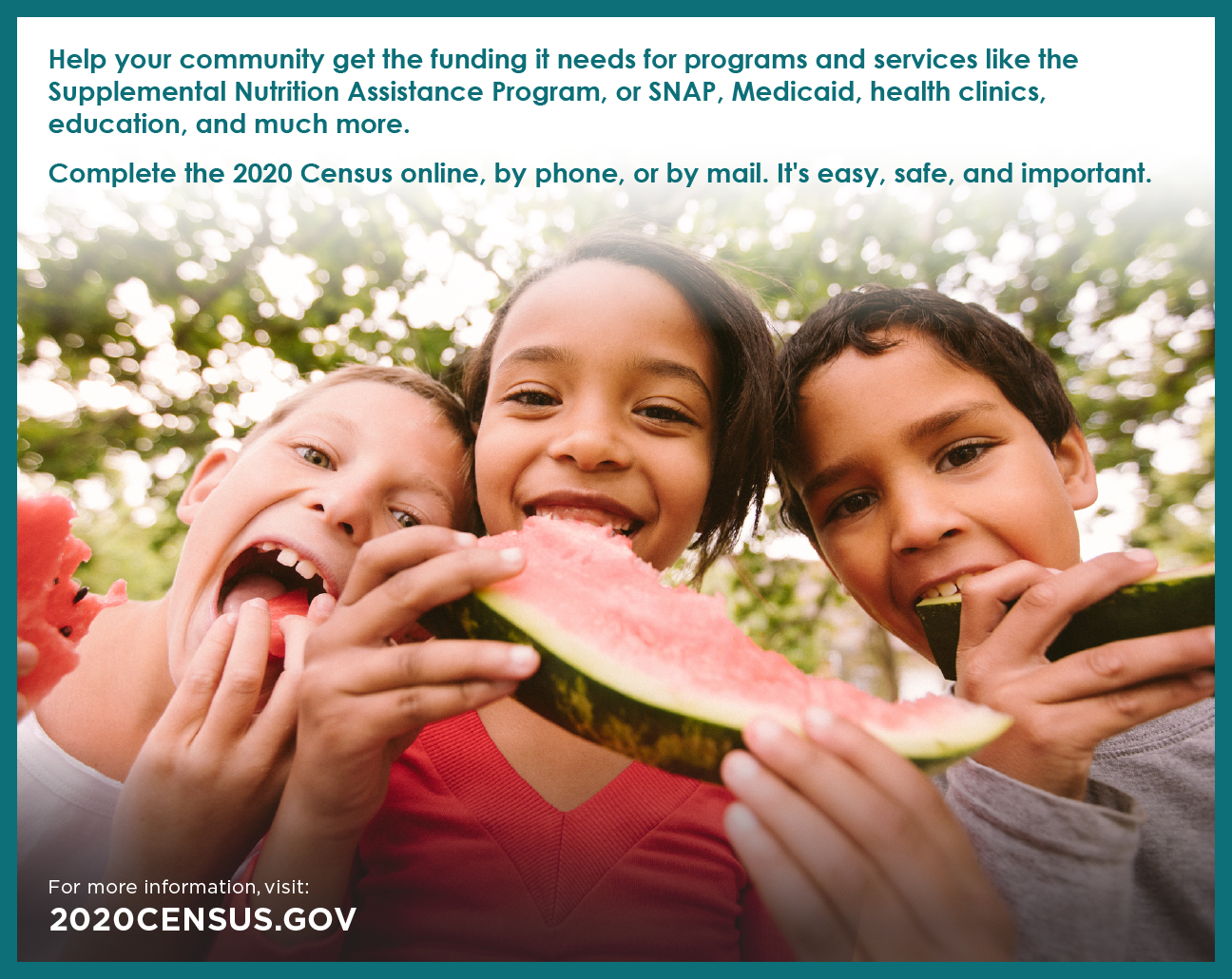 Social Media Cards USDA-7b - Help Community PIC 2020 Census