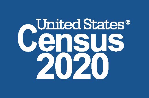 2020 Logo_Census 2020_Reversed_Blue_Preferred