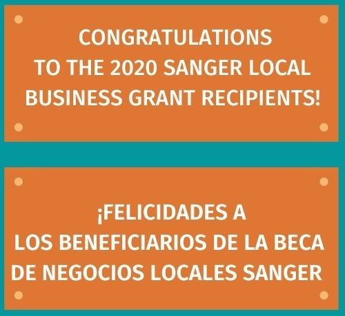 IMAGE - Business Grant 2020 WINNERS