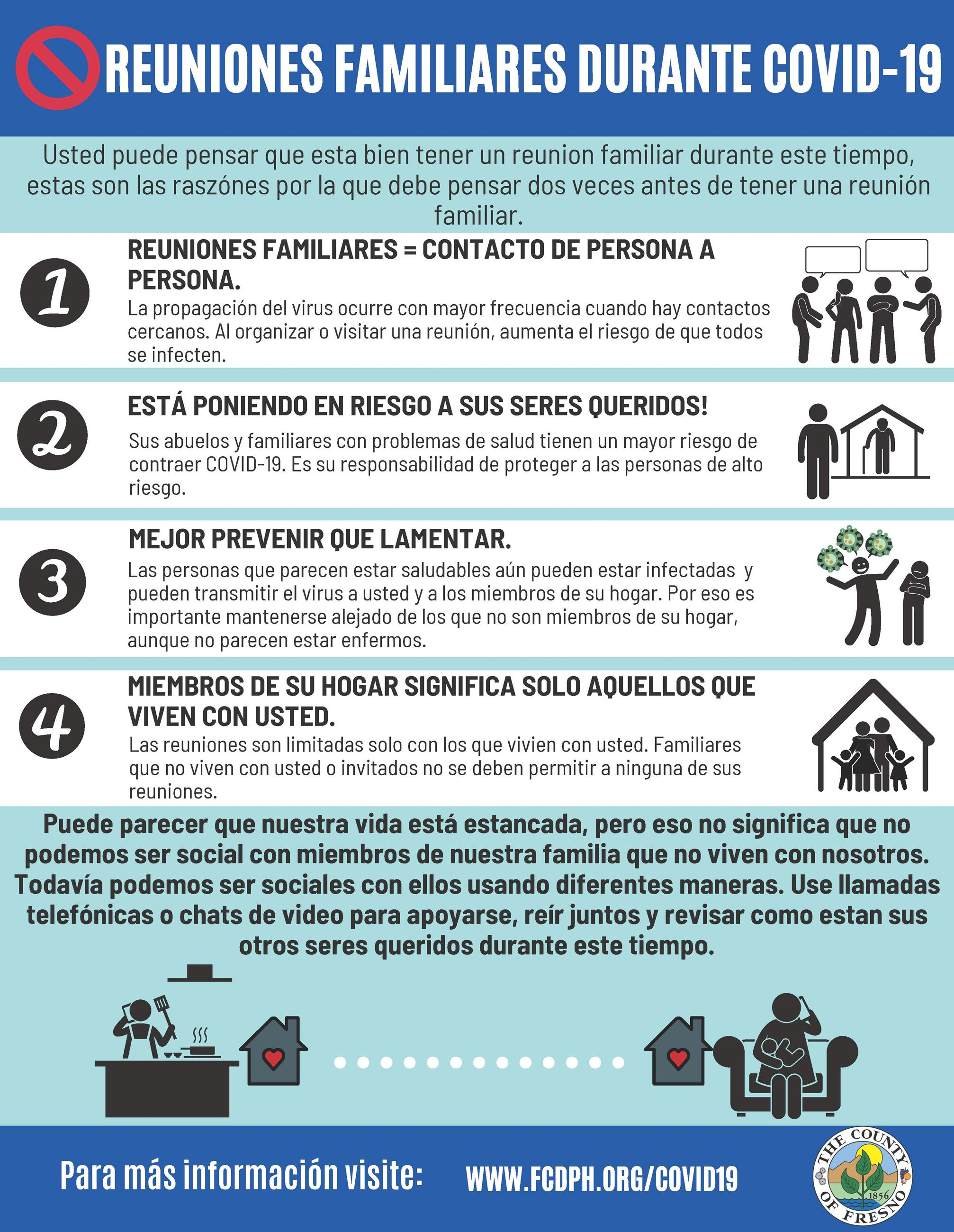 Avoid Family Gatherings (Spanish)_
