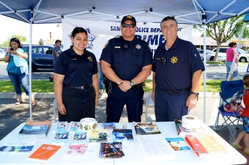 Staff at a Crime Prevention Booth 2